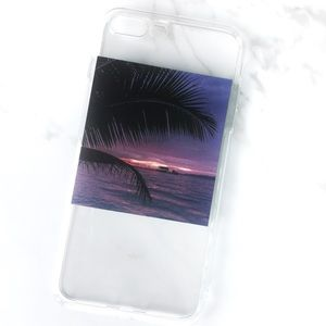 Accessories - NEW iPhone 7+/8+ Beach Island Vacation Soft Case